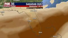 Cover for Saharan dust coming to Florida: Why it can make you think you have this virus