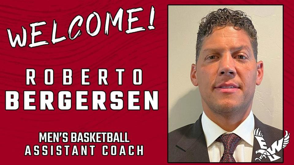 Picture for Ex-Husky Roberto Bergersen Joins Eastern as Assistant Coach