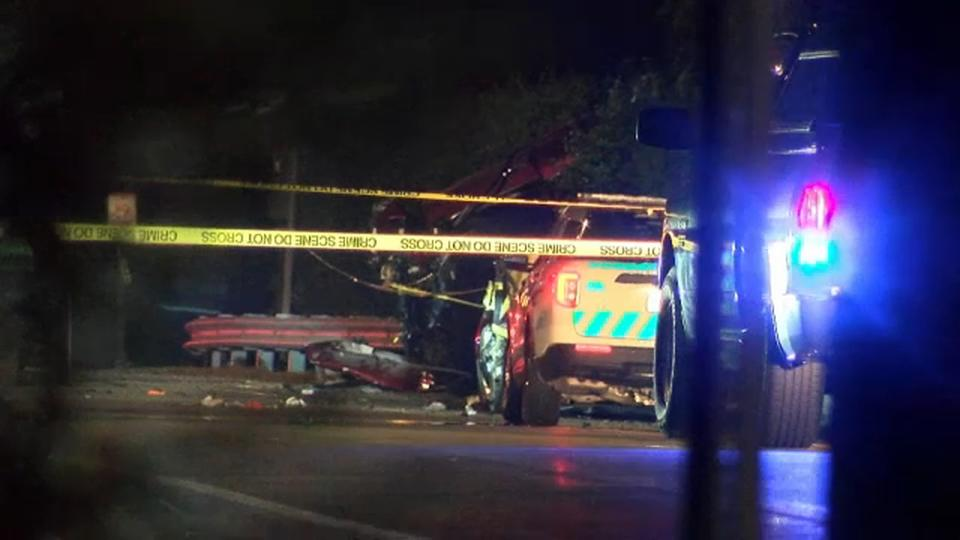 Picture for 5 killed in head-on collision on Montauk Highway in Suffolk County