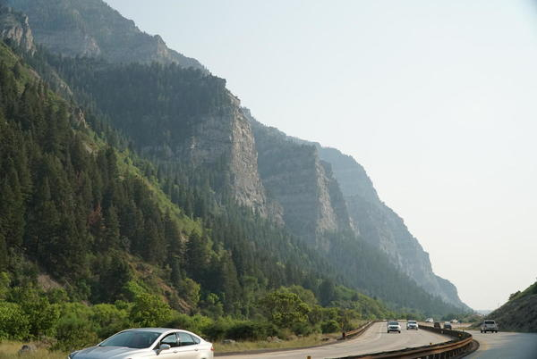 Picture for Overturned Semi In Provo Canyon Causing Short Delays But 'Not Leaking Reactive Materials'