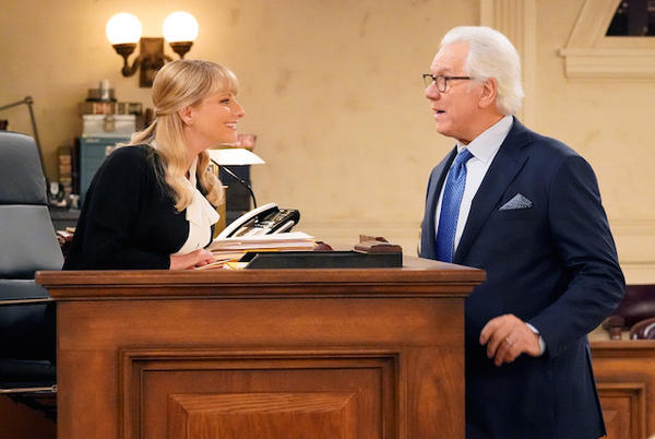 Picture for Night Court Revival Ordered to Series at NBC, With John Larroquette and Melissa Rauch — Get First Look