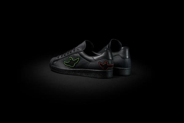 """Picture for adidas Skateboarding x Superstar ADV by Mark Gonzales Arrives in Black Colorway With Signature """"Shmoo"""" Birds"""
