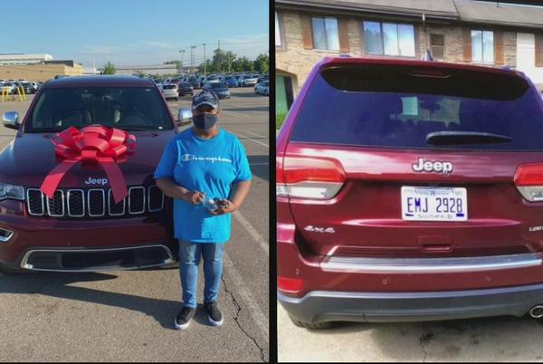 Picture for Car gifted from son to mother stolen in Southfield, thief caught on camera