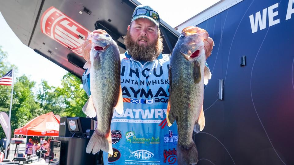 Picture for Lawson Hibdon Leads Day 1 of Tackle Warehouse Pro Circuit Federal Ammunition Stop 5 Presented by Lucas Oil at Potomac River