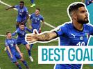 Picture for Euro 2020: Lorenzo Insigne, Federico Bernardeschi, Andrea Belotti - best goals from Italy's qualifying campaign