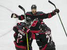 Picture for Apparently, Brett Pesce missed the playoffs. Hurricanes defenseman shines in return
