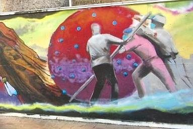 Picture for ARKANSAS SIGHTSEEING: Murals of all shapes color Little Rock walls