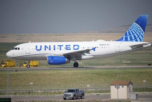 Picture for United Airlines say 97% of US employees have been vaccinated
