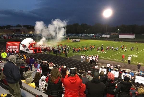 Picture for Willmar tames the Wildcats at Hodapp Field