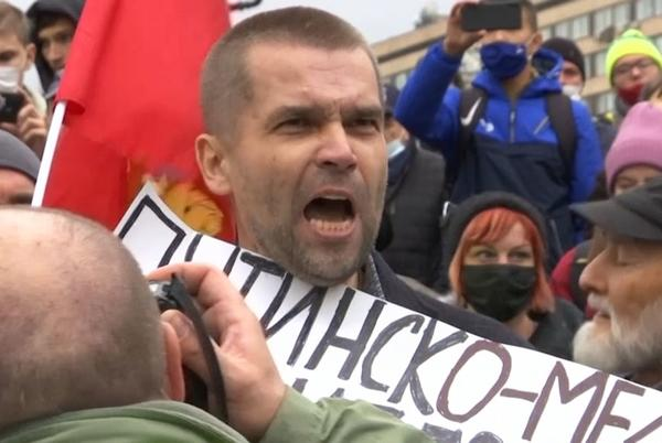 Picture for Hundreds of Russians protest against State Duma election results