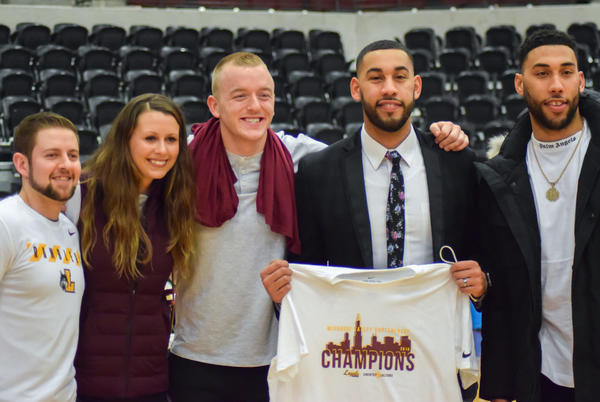 Picture for 'He's Got to Do It His Way': Loyola Men's Basketball Head Coach Drew Valentine Starts the Season with Sister Jean's Support