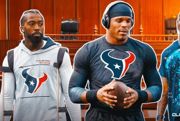 Picture for Texans must sign Cam Newton with Tyrod Taylor out, Deshaun Watson banished