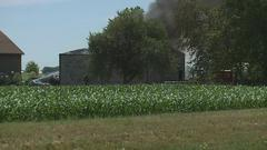 Cover for Maintenance shed catches on fire in rural Henry County
