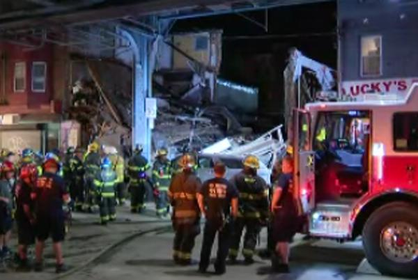 Picture for Philadelphia building collapse leaves at least 2 injured: report