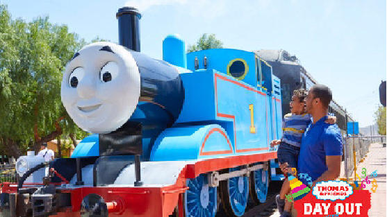 Cover for 'A really useful engine' ride is coming to Dallas metro; hop onboard with Thomas the tank engine