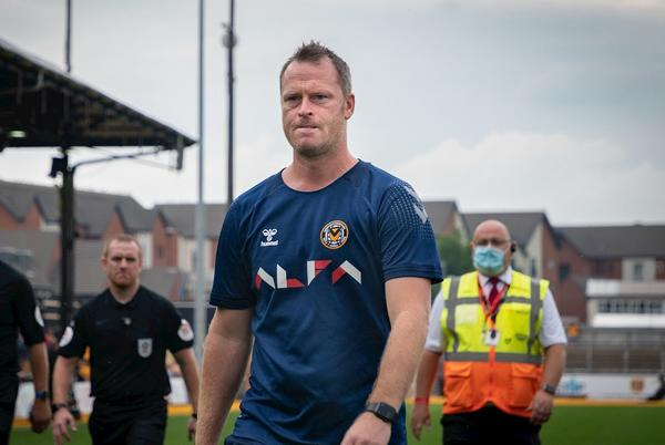 """Picture for PRE-MATCH   Michael Flynn: """"We're a work in progress and I'm sure we'll only get better"""""""