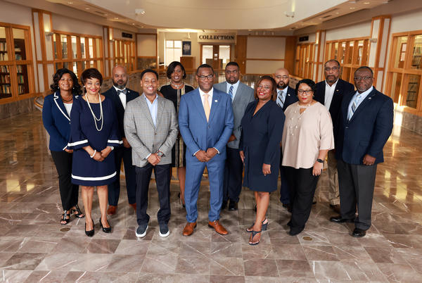 Picture for JSU President executive cabinet, academic deans fully vaccinated