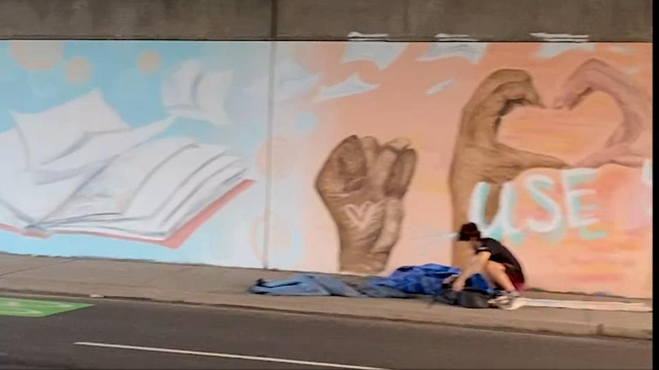 Picture for Artist says New Jersey town backed out of supporting Black Lives Matter mural