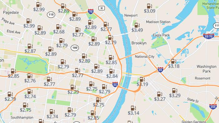 Picture for St. Louis gas price comparison: Cheapest gas in the area