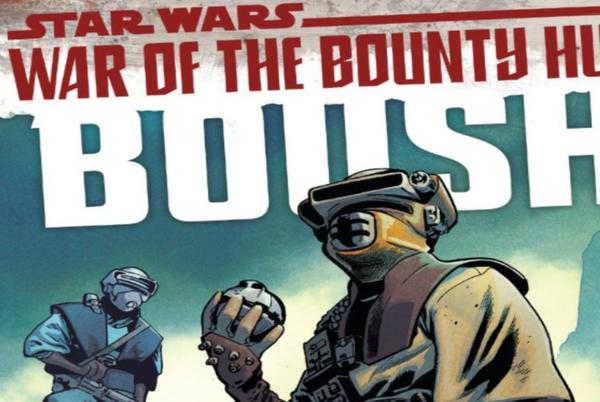 Picture for Review: Boushh Gets a Moving Origin in 'Star Wars: War of the Bounty Hunters'