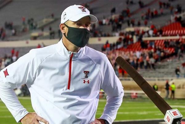 Picture for Texas Tech Fires Former USU Coach Matt Wells