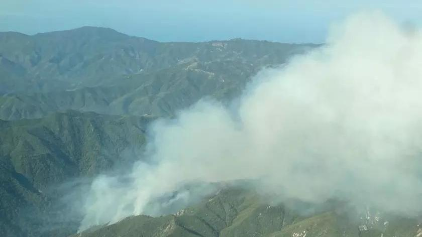Picture for Brush fires erupt in California, forcing evacuations