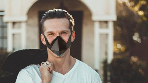 Breathe Easy With This Ultra High Tech Face Mask News Break