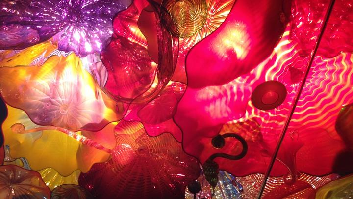 Cover for Chihuly's Garden and Glass Exhibition, Seattle