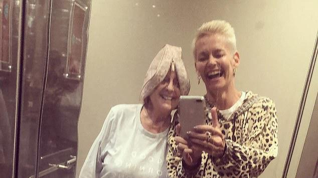 Picture for Girls gone wild! Jessica Rowe and Denise Drysdale have an impromptu pyjama party in a hotel elevator