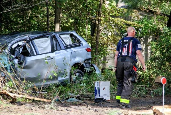 Picture for Violent wreck shuts down Route 44 in Pleasant Valley
