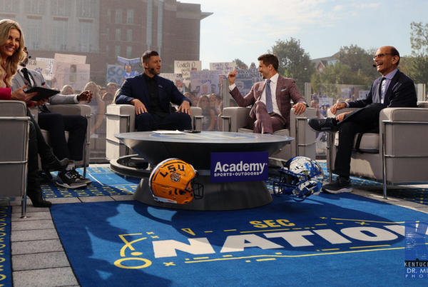 Picture for College GameDay, SEC Nation guide for Kentucky fans this weekend