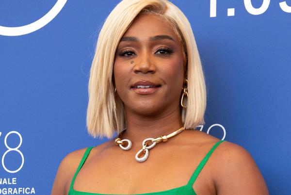 Picture for Tiffany Haddish says she will 'only listen to gay men' about hairstyling now because a suggestion from her ex-husband made all of her hair break off