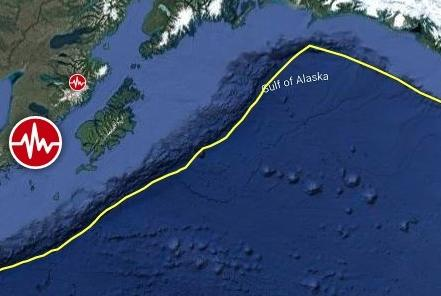 Picture for Strong and shallow M6.9 earthquake hits Alaska Peninsula, U.S.