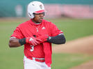 Picture for Devonte Brown on two-homer game, win over Alabama
