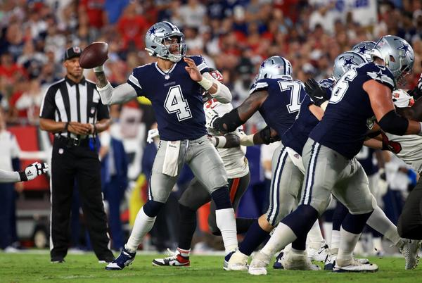 Picture for Dallas Cowboys good, bad, and ugly from the Week 1 loss to the Tampa Bay Buccaneers