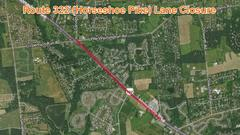 Cover for Route 322 Restricted Next Week in East Brandywine Township