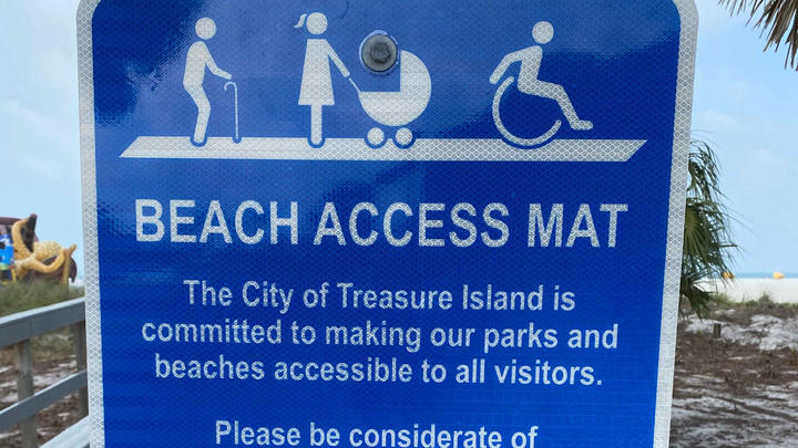 Cover for Foundation Offering to Finance Beach-Access Mats for Tampa Bay Beach Cities