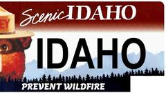 Cover for Idaho's Officials Propose Smokey Bear License Plate