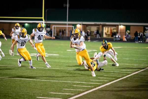 Picture for Football: Loudoun County Surges in Second Half, Claims Fifth Straight Win Over Rival Loudoun Valley