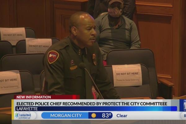 Picture for Elected Police Chief recommended by Lafayette Protect the City Committee