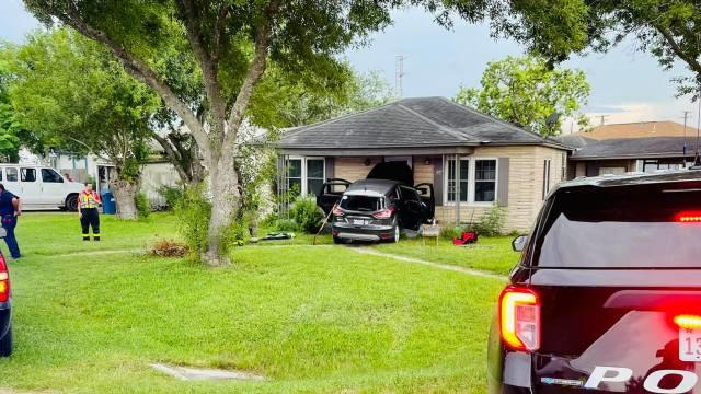 Picture for Police: Vehicle slams into home following brief high-speed chase
