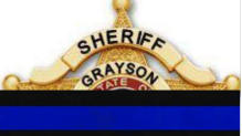 Cover for Grayson County Deputy Passes Away After A Foot Pursuit