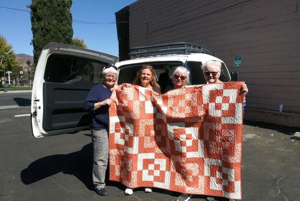 Picture for Comfort Quilts helps Dixie Fire victims