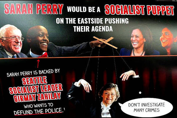 Picture for Seattle Times Rescinds Kathy Lambert Endorsement Over Racist Mailer