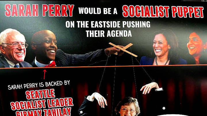 Cover for Seattle Times Rescinds Kathy Lambert Endorsement Over Racist Mailer