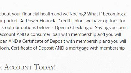 Fl Only Power Financial Credit Union 100 Checking Bonus No Direct Deposit Required News Break