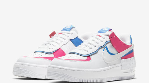 Nike Air Force 1 Shadow With Pink And Blue Detailing News Break