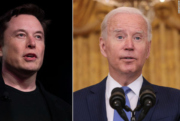 Picture for Elon Musk takes shots at Joe Biden after SpaceX sends civilians to space