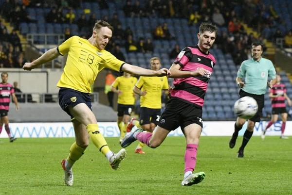 Picture for Oxford United 2-0 Shrewsbury Town - player ratings