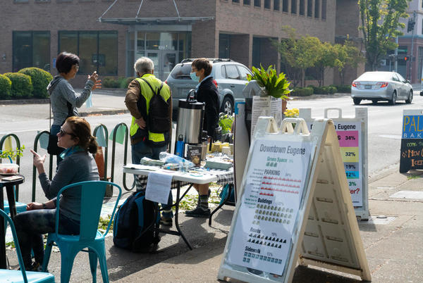 Picture for Eugene Locals Celebrate 'PARK(ing) Day' & Call For Fewer Parking Spaces